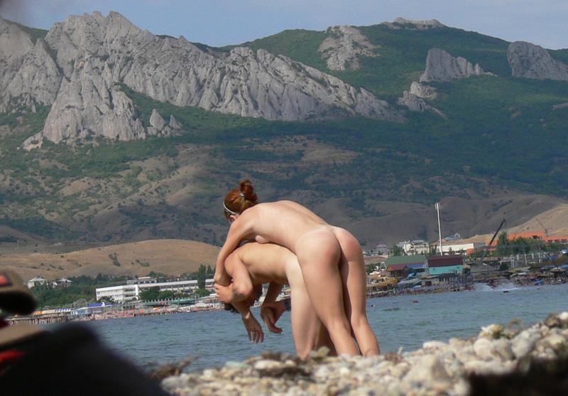 Смотреть порно на нудиского пляжа 7 фотография
