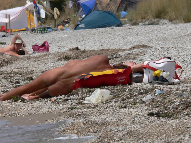 Нудитский пляж смотреть